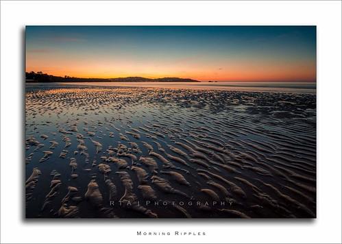 paignton beach torbay dawn sand sea rtaphotography devon bluehour southdevon summer glow