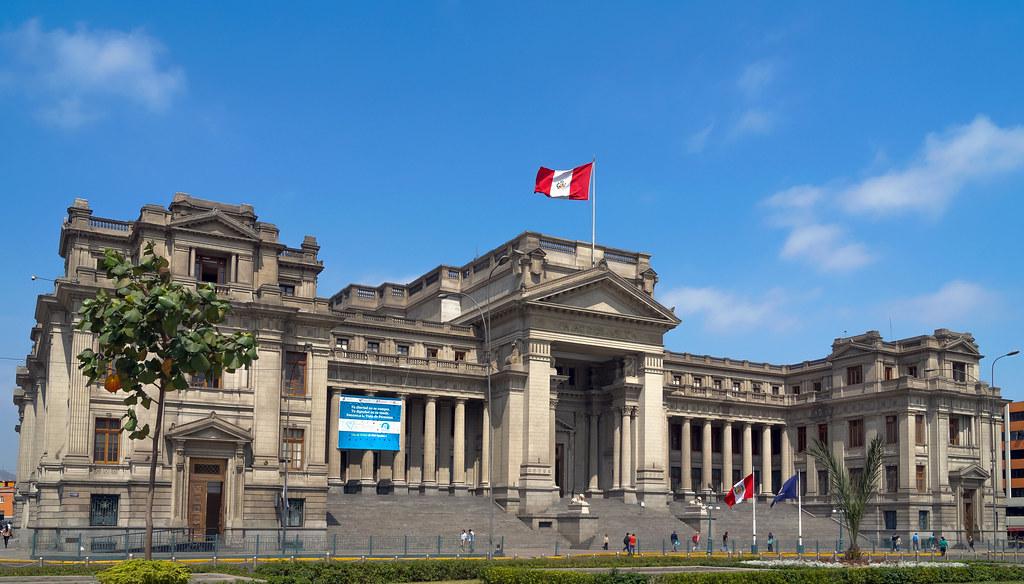 Palacio de Justicia. Lima, Perú.