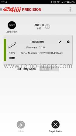 4iiii Device Configuration App 852
