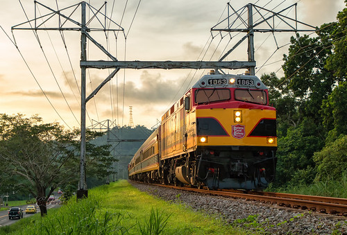 pcrc panama canal railway f40ph locomotive emd railroad rail road train trains rails passenger sunset