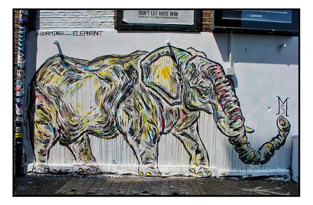 STREET ART by ROAMING ELEPHANT