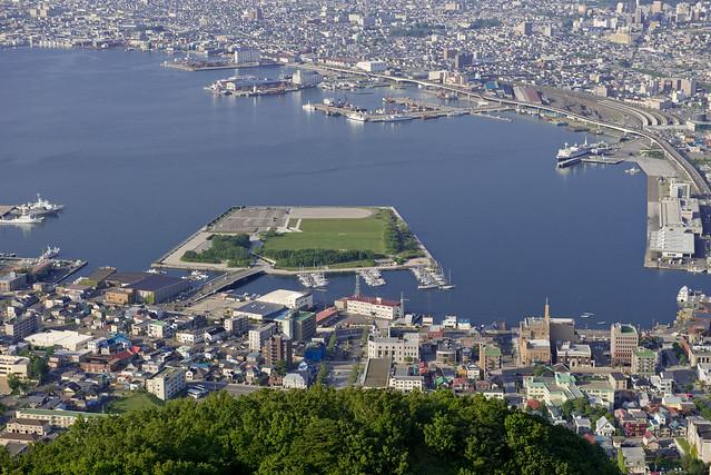 函館湾/函館市大町地区/旧居留地 Hakodate harbor