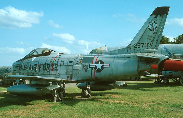 F-86H 52-5737 NJANG 119th TFS 177th TFG