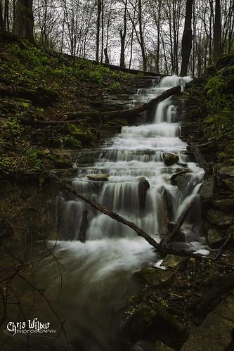 ontario canada spring water little waterfall falls valley cascade area hamilton conservation canterbury dundas