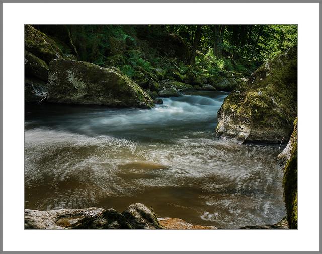 Die wilde Ilz (Wild river Ilz)