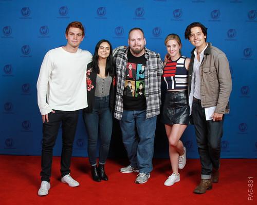 (Riverdale) KJ Apa, Camila Mendes, Lili Reinhart & Cole Sprause - 6/3/2017   by Thebokchoyman