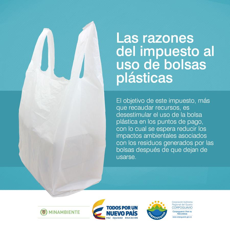 0ed04b48e ... Las razones del impuesto al uso de bolsas plásticas | by Corporación  Autónoma Regional del Guavio
