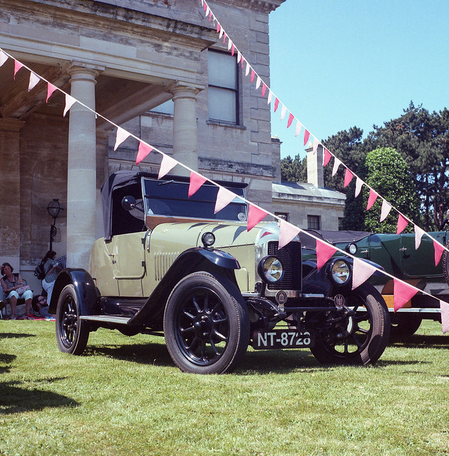 FILM - Brodsworth Hall classic car show 2017-20