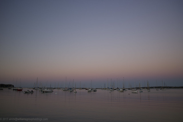 Peaceful Harbor at Dusk