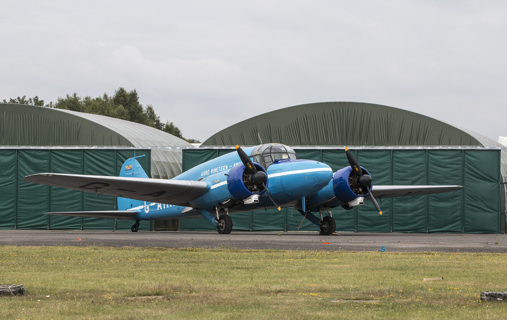 EGLK - Avro 652A Anson C19 - G-AHKX