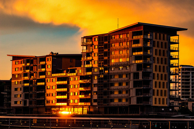 Wharf One, Building Three, Darwin @ Sunset