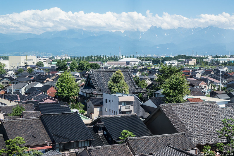 Alpes Septentrionales vistos desde Toyama