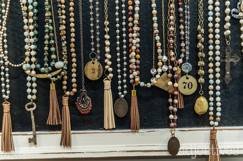 Handmade jewelry by Anna Phillips Designs at Adjectives Altamonte