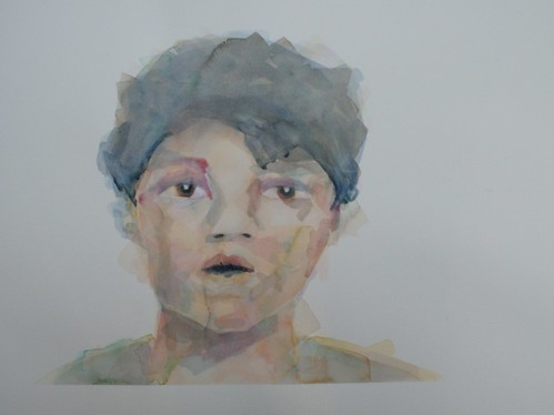 Boy | Sold | 2011 | 76x56cm | Watercolour Paper Cold pressed