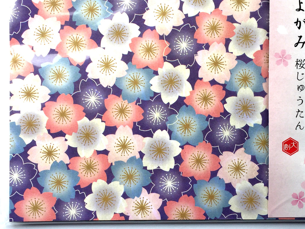 Origami Cherry Blossom Flower Folding Instructions   768x1024