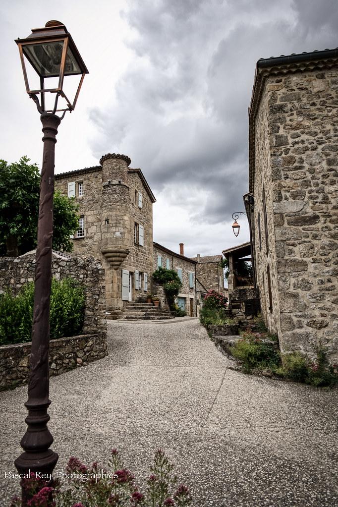 La maison du Bailli, Boucieu Le Roi, Ardèche.