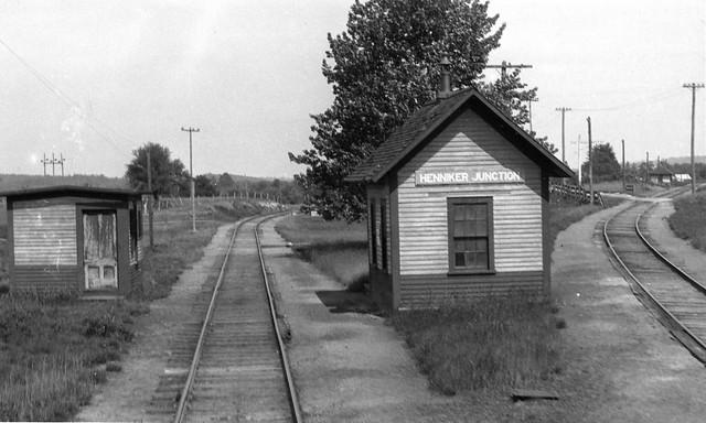 Henniker Junction station, Henniker, N.H., June 17, 1929