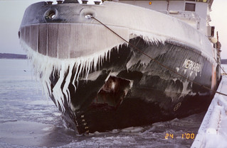 VL Merikarhu talvimyrskyn jälkeen 24.1.2000