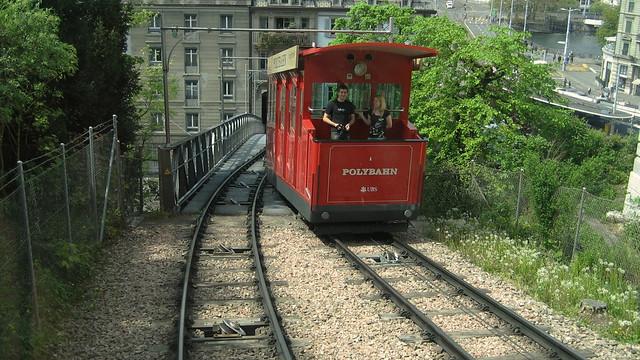Polybahn Zürich April 2010