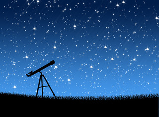 Telescope on the grass Under the Stars Astronomy | by scienceandtechnologysu