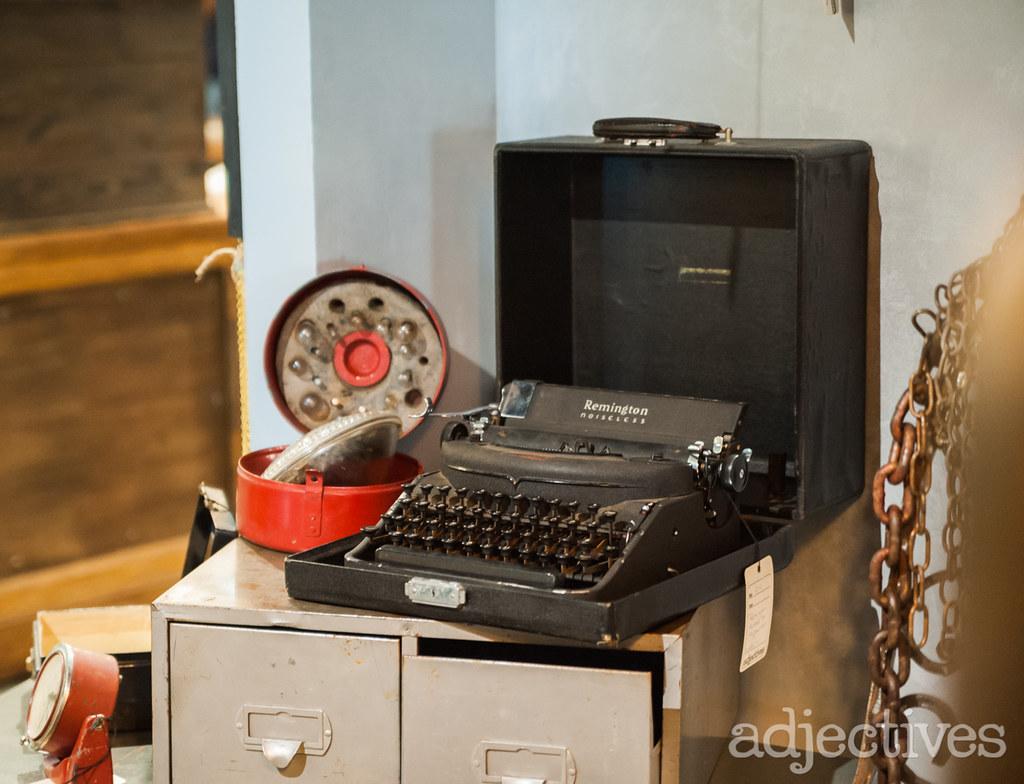 Vintage typewriter by 510 Decor in Adjectives Altamonte-3215.NEF