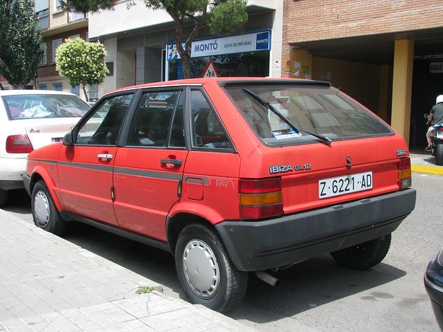 1989 Seat Ibiza GL [Typ 021A]