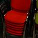 Metal framed fabric chair E35