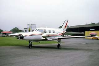 Piper PA-31T Cheyenne N51BJ Fairoaks 8-9-78