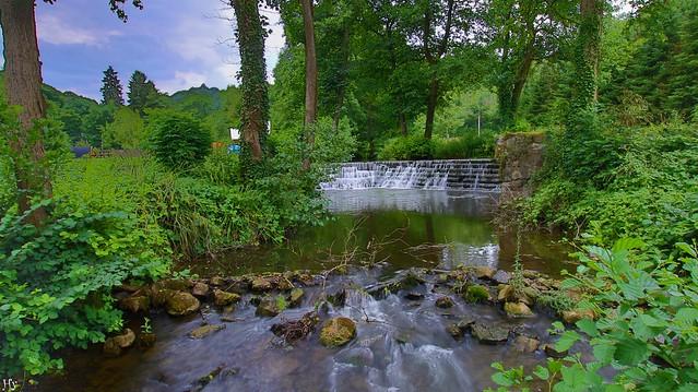 Waterfall Jausse belgium