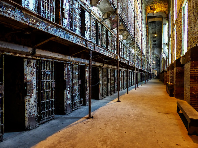 The East Cell Block Of The Ohio State Reformatory