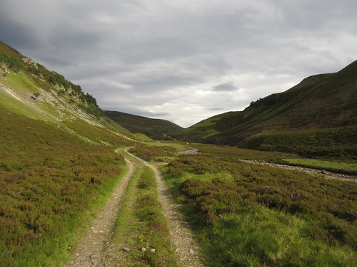 Looking back up Glen Builg. Sun is out again | by malky_c