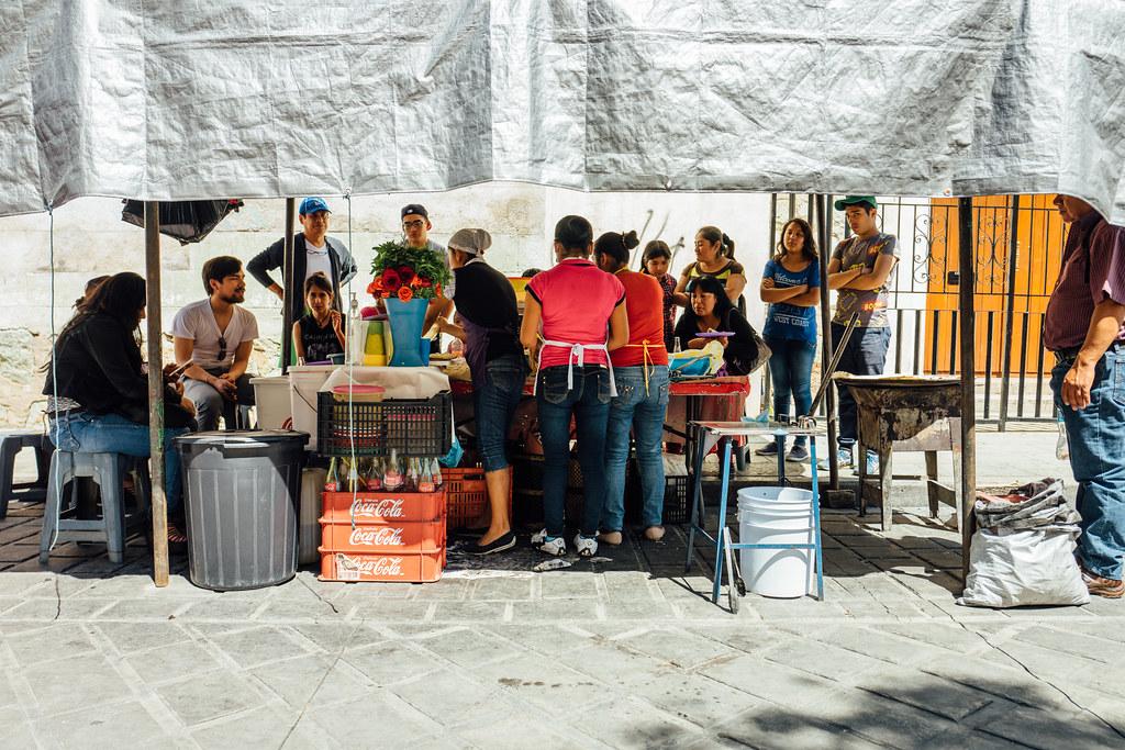 Comida en la calle, Oaxaca