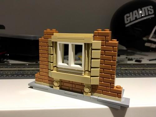 LEGO Station Window Technique