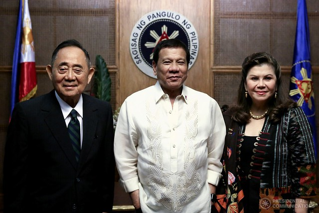 Philippines-2017-05-30-Former Speaker Jose de Venecia Appointed as Special Envoy by Philippine President Rodrigo Duterte