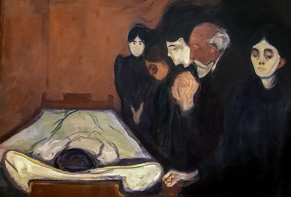 Death Struggle, 1915' by Edvard Munch | Seen and photograph… | Flickr