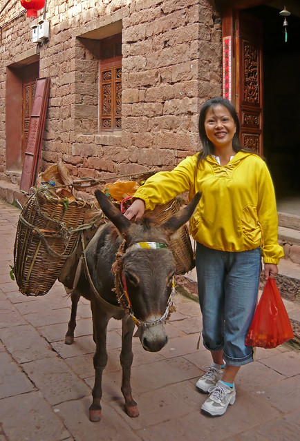 Some Chinese women are able to transform men into pack donkeys