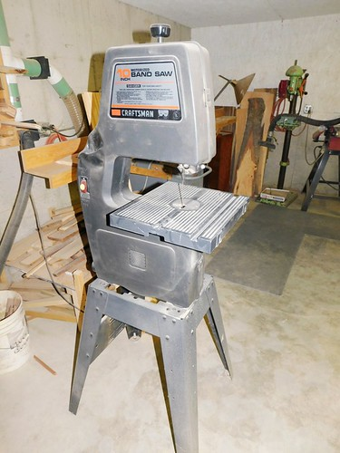 """Craftsman 10"""" band saw 