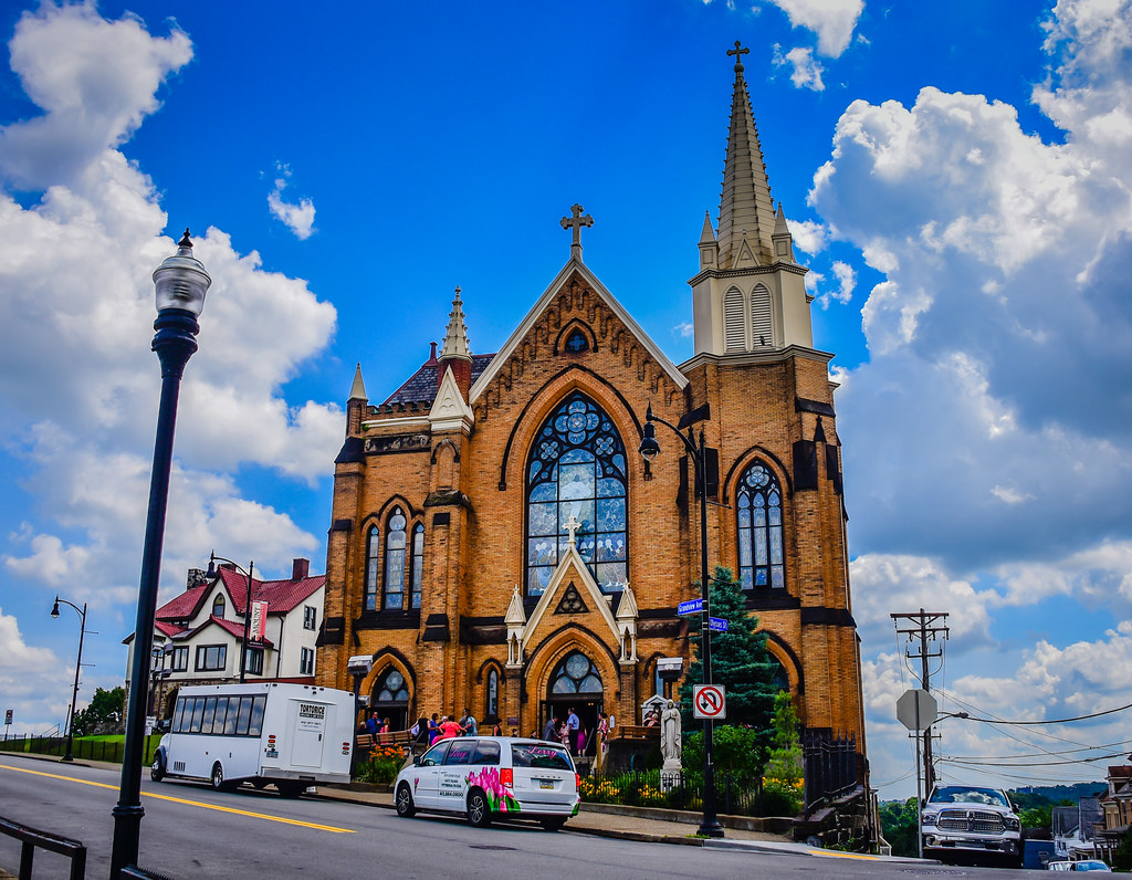 St Mary Of The Mount >> St Mary Of The Mount Church Pittsburgh Pa Flickr Photo Sharing