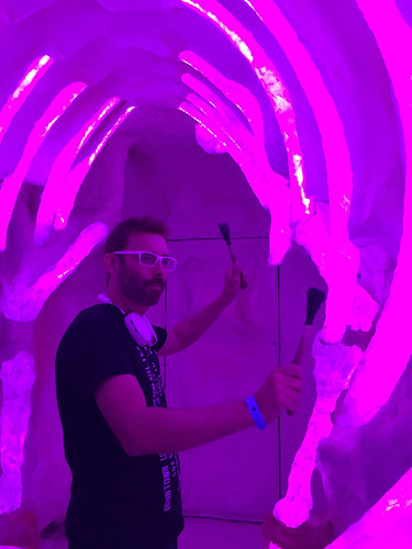 Jayse at Meow Wolf | by motiontv