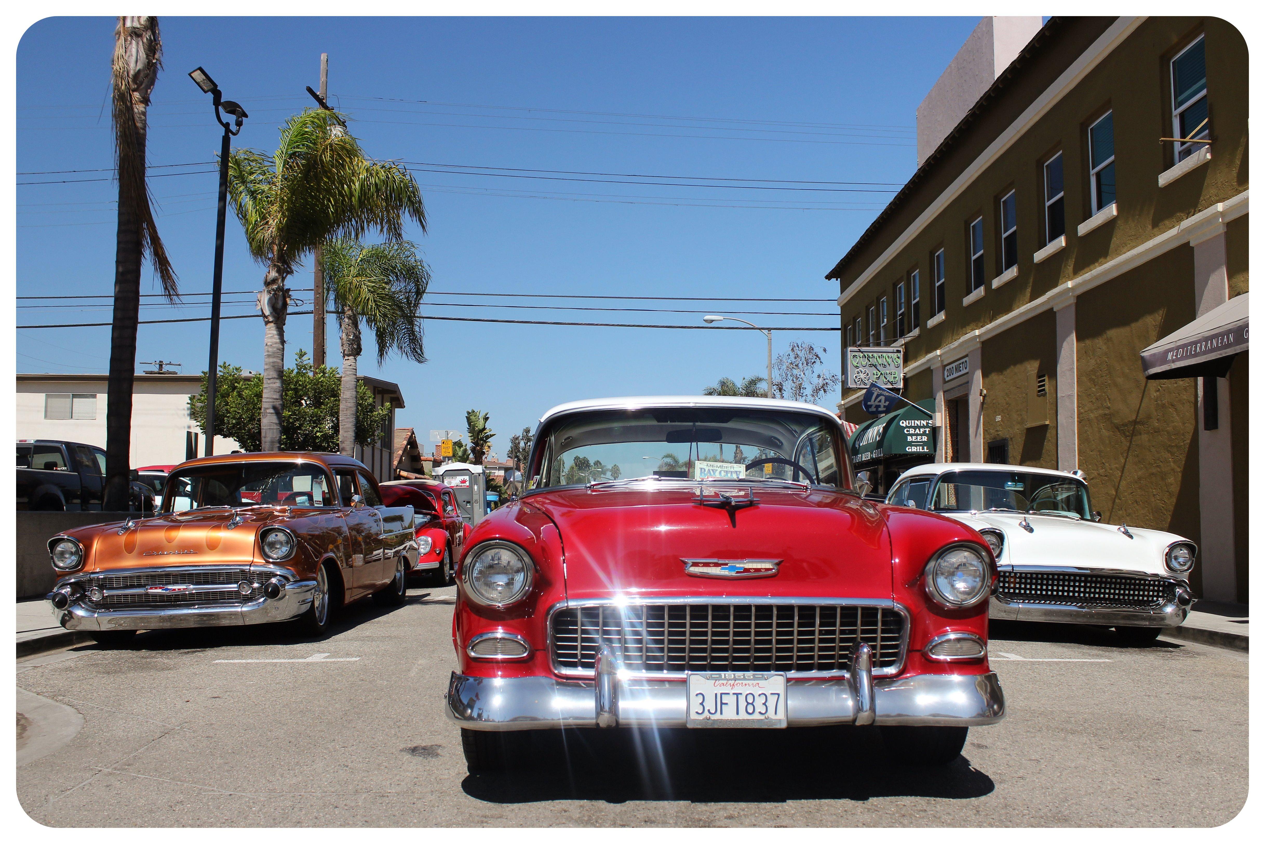 California vintage car