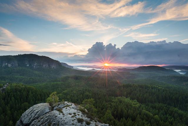 Classic Summer Sunset