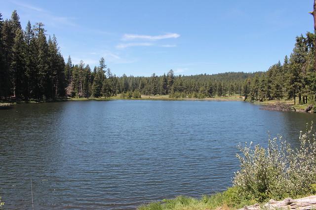 Little Hyatt Lake, at the start