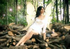 Ritratto di Cristiana, fata del bosco
