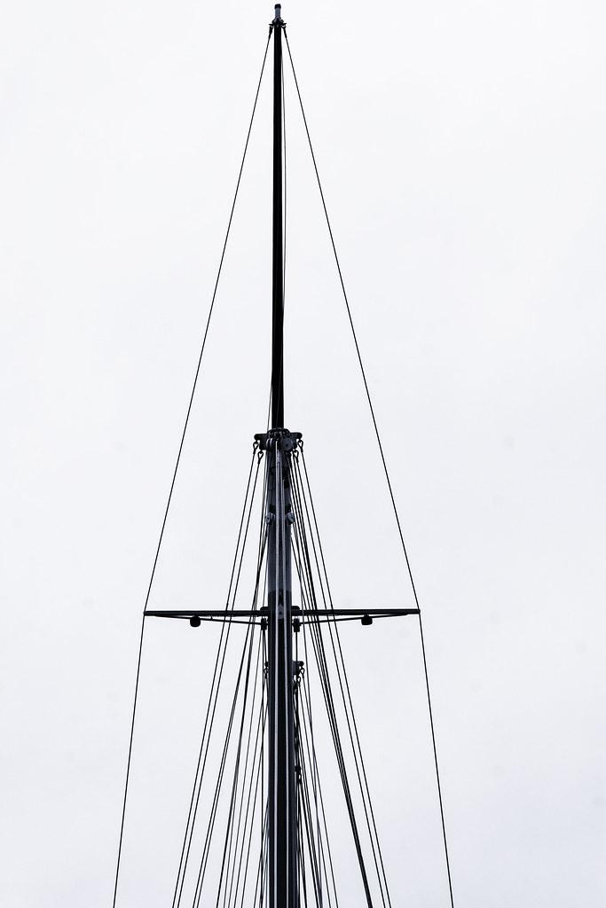 Mast and Rigging, Schooner Bay Lady II