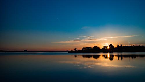 canoneosm sunrise sky