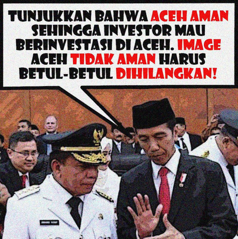 Ini Pesan Jokowi Kepada Irwandi