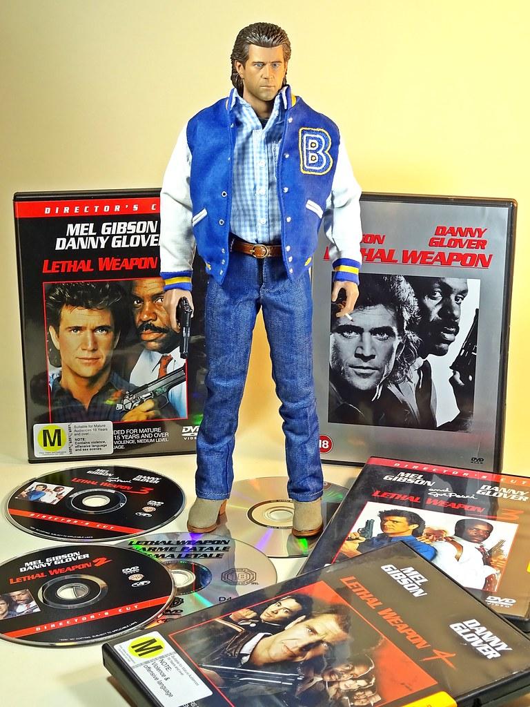 Lethal Weapon 1//6 Scale Redman Action Figures Dark Blue Jacket A