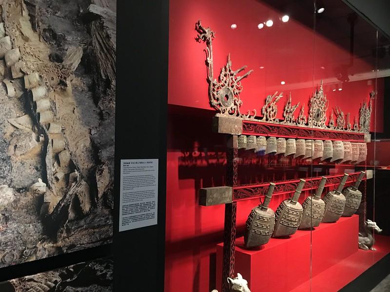 Han dynasty bells, exhibit at Asian Art Museum, San Francisco