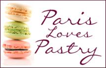 Paris Loves Pastry Button