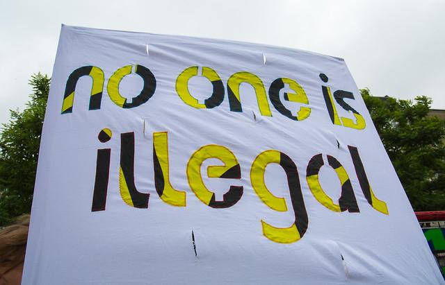 Demonstration Hamburg Refugee Rights - No G20 - 24.06.2017